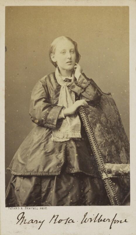 Mary Rosa Guerini (née Wilberforce), by Bayard & Bertall, 1861-1866 - NPG Ax9931 - © National Portrait Gallery, London