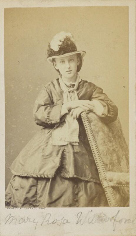 Mary Rosa Guerini (née Wilberforce), by Bayard & Bertall, 1861-1866 - NPG Ax9933 - © National Portrait Gallery, London