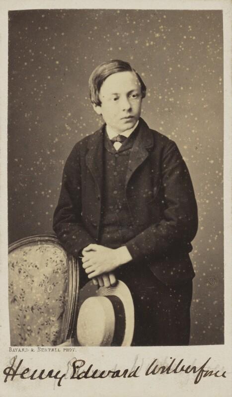 Henry Edward Wilberforce, by Bayard & Bertall, 1861-1866 - NPG Ax9936 - © National Portrait Gallery, London