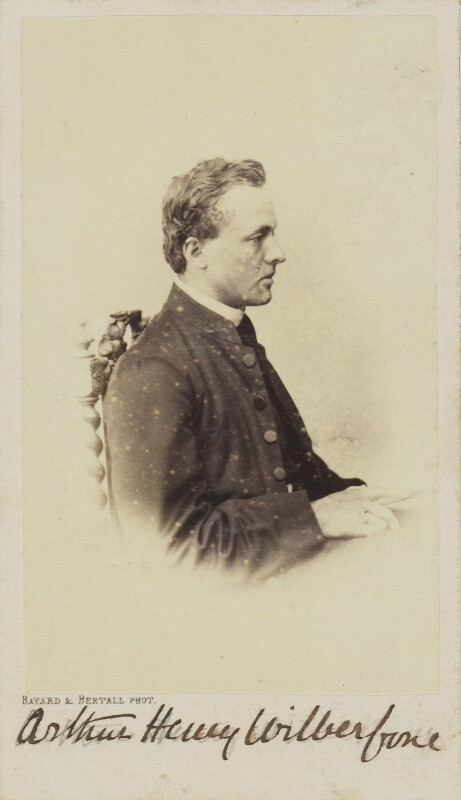 (Bertrand) Arthur Henry Wilberforce, by Bayard & Bertall, 1861-1866 - NPG Ax9938 - © National Portrait Gallery, London