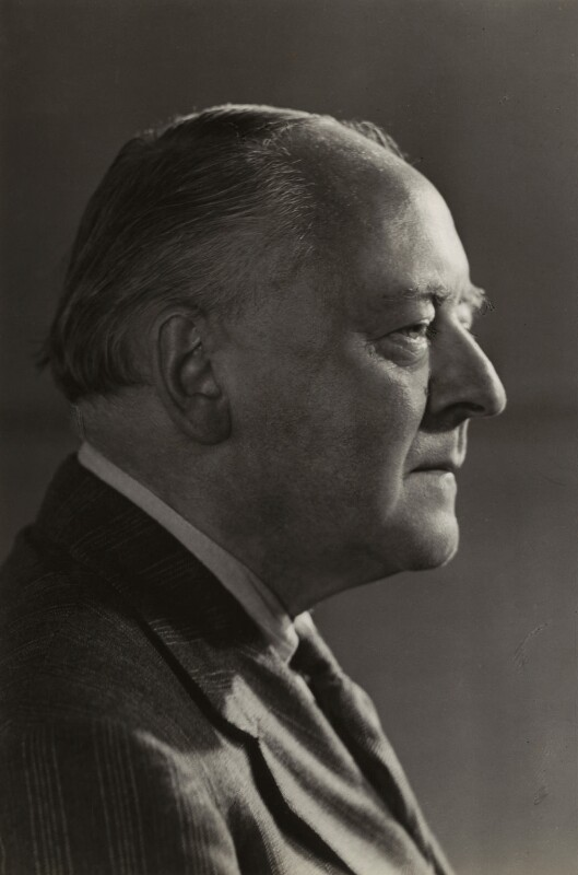 Sir Arnold Bax, by Howard Coster, 1944 - NPG x10659 - © National Portrait Gallery, London