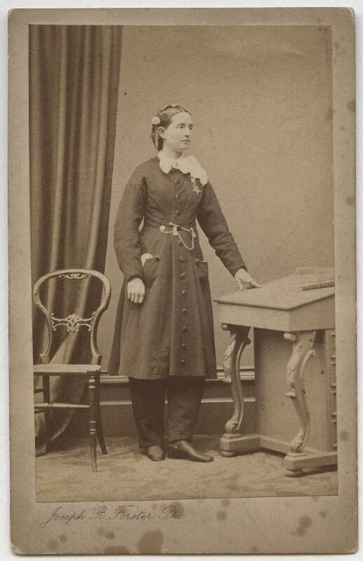Mary Edwards Walker, by Joseph B. Forster, 1866 - NPG x1088 - © National Portrait Gallery, London