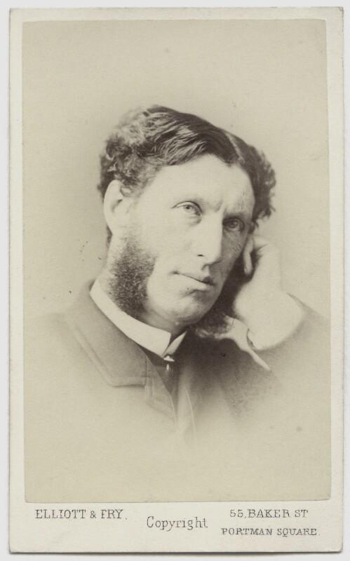 Matthew Arnold, by Elliott & Fry, 1870s - NPG x110 - © National Portrait Gallery, London
