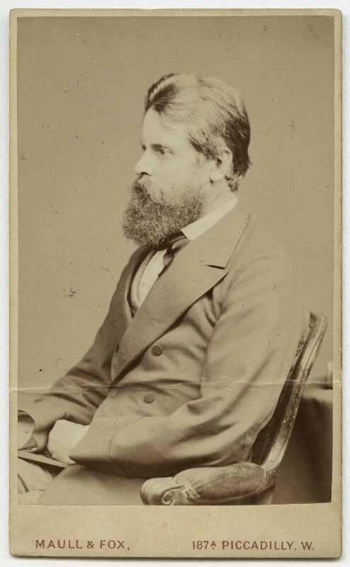 Wilfrid Scawen Blunt, by Maull & Fox, circa 1880 - NPG x1114 - © National Portrait Gallery, London