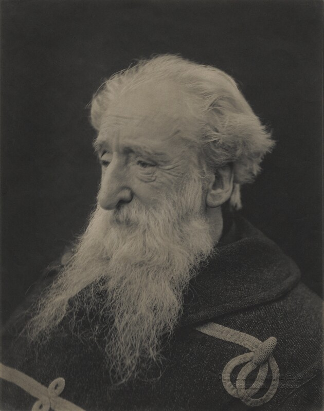 William Booth, by (Mary) Olive Edis (Mrs Galsworthy), and  Katharine Legat (née Edis), 1902 - NPG x1166 - © National Portrait Gallery, London