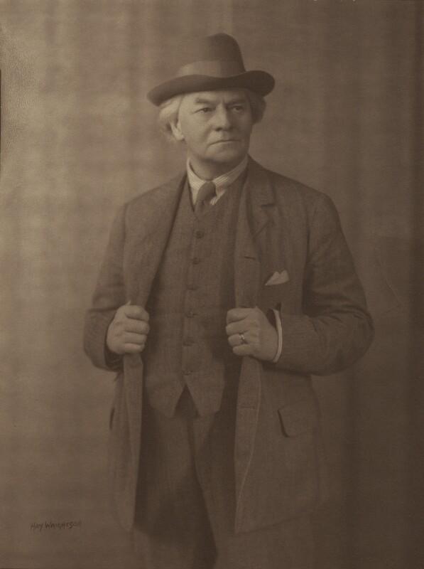 Jerome Klapka Jerome, by Hay Wrightson, 1920s - NPG x11843 - © National Portrait Gallery, London