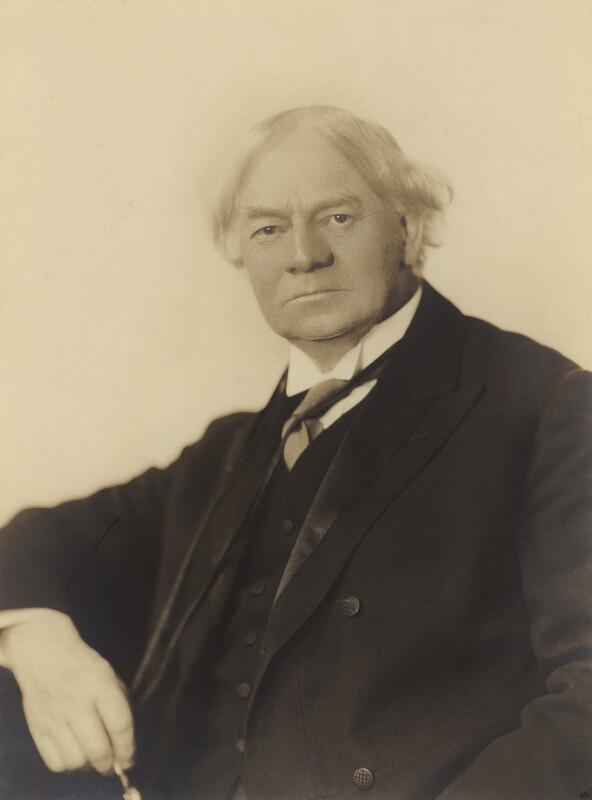 Jerome Klapka Jerome, by Frank Arthur Swaine, circa 1926 - NPG x11844 - © National Portrait Gallery, London