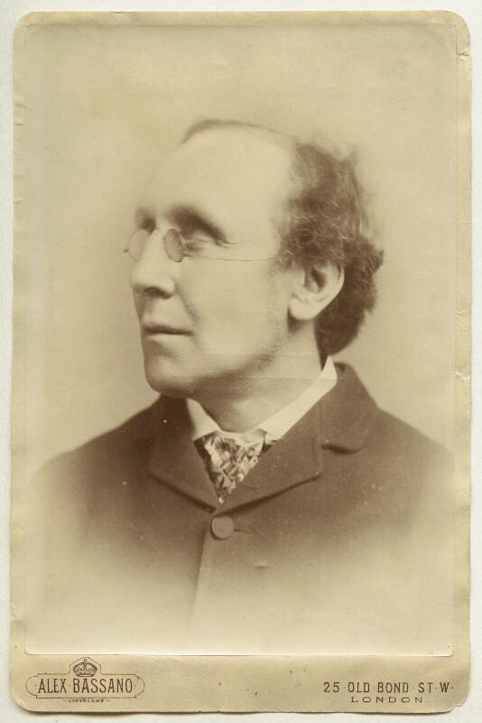 Henry Fawcett, by Alexander Bassano, 1883 - NPG x11888 - © National Portrait Gallery, London