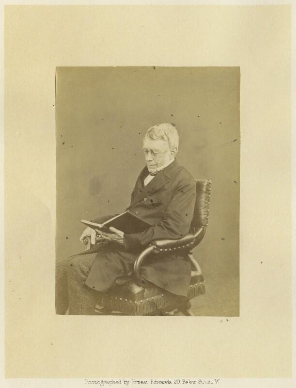 Sir George Biddell Airy, by Ernest Edwards, 1863-1867 - NPG x1213 - © National Portrait Gallery, London