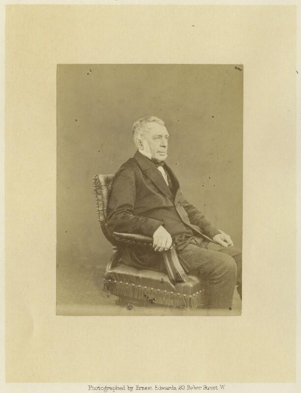 Sir George Biddell Airy, by Ernest Edwards, 1863-1867 - NPG x1214 - © National Portrait Gallery, London