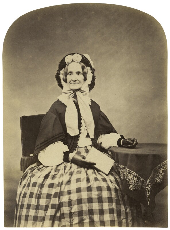 Richarda (née Smith), Lady Airy, by Cundall, Downes & Co, November 1860 - NPG x1217 - © National Portrait Gallery, London