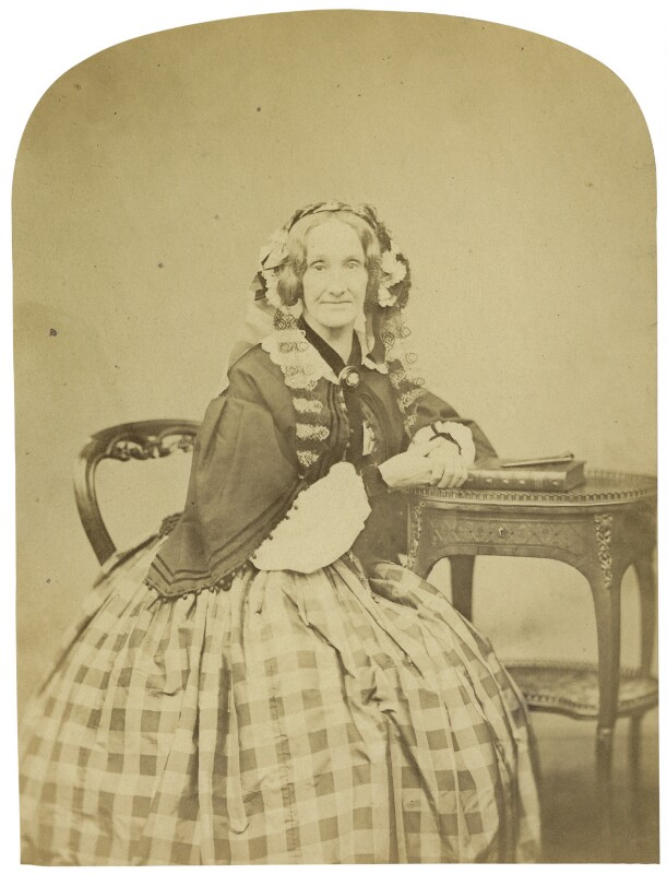 Richarda (née Smith), Lady Airy, by Cundall, Downes & Co, November 1860 - NPG x1218 - © National Portrait Gallery, London