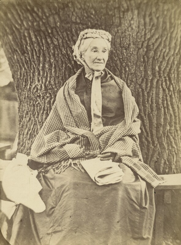 Richarda (née Smith), Lady Airy, by Unknown photographer, 1870-1875 - NPG x1219 - © National Portrait Gallery, London