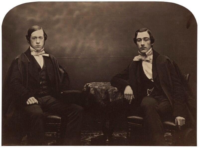 Wilfrid Airy; Hubert Airy, by W. Nichols, circa 1860 - NPG x1221 - © National Portrait Gallery, London