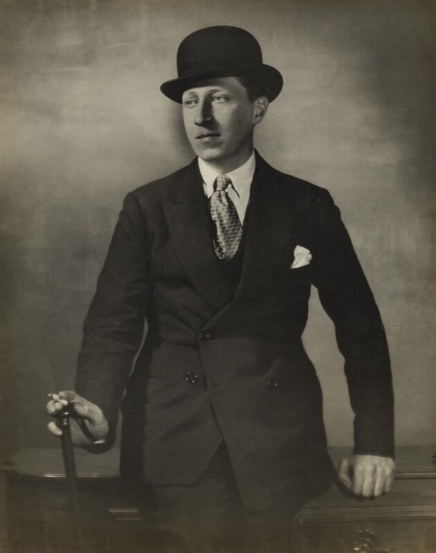 Sir Osbert Sitwell, by Maurice Beck and Helen Macgregor, early 1920s - NPG x12403 - © reserved; collection National Portrait Gallery, London