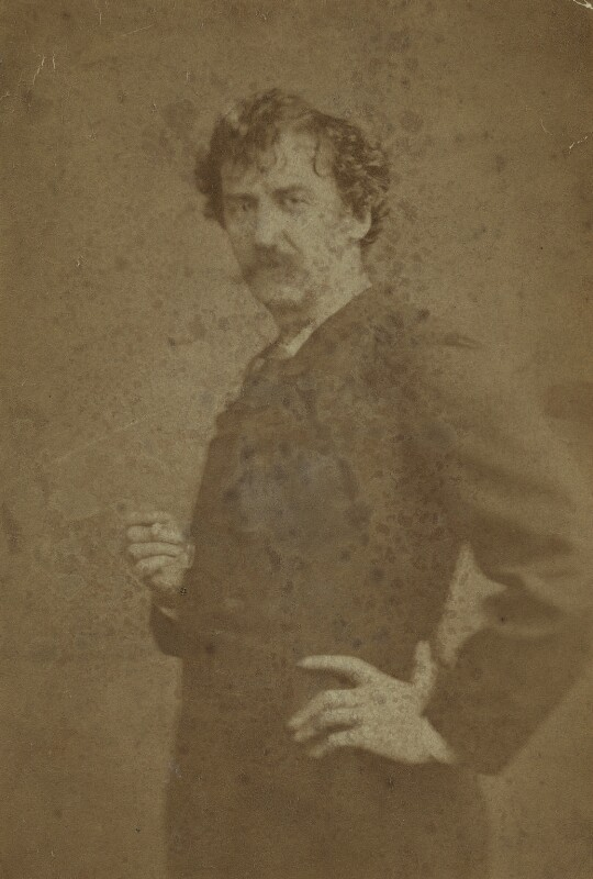 James Abbott McNeill Whistler, by London Stereoscopic & Photographic Company, 1870s - NPG x12544 - © National Portrait Gallery, London
