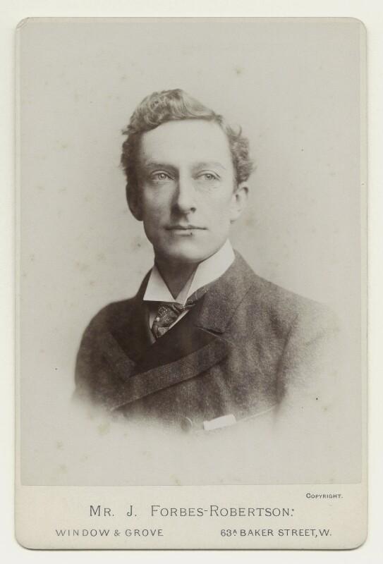 Sir Johnston Forbes-Robertson, by Window & Grove, 1880-1888 - NPG x12559 - © National Portrait Gallery, London
