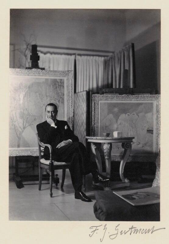 Glyn Warren Philpot, by Francis Goodman, 1937 - NPG x12738 - © National Portrait Gallery, London