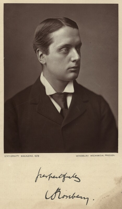 Archibald Philip Primrose, 5th Earl of Rosebery, by Unknown photographer, published 1878 - NPG x12745 - © National Portrait Gallery, London