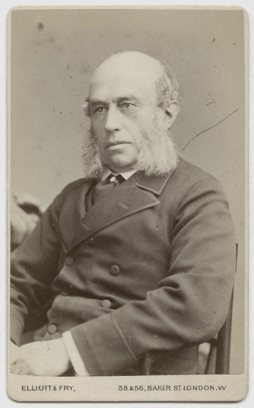 William Rathbone, by Elliott & Fry, 1880 - NPG x12794 - © National Portrait Gallery, London