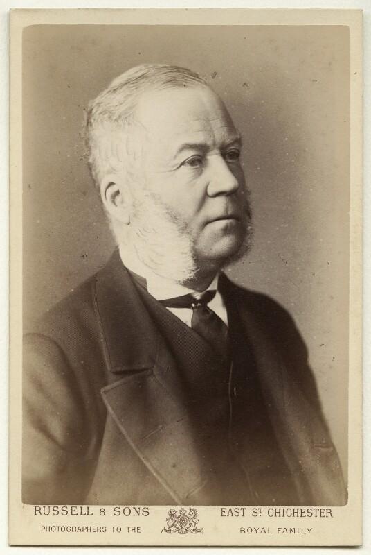 Charles Henry Gordon-Lennox, 6th Duke of Richmond, 6th Duke of Lennox and 1st Duke of Gordon, by James Russell & Sons, 1880s - NPG x12805 - © National Portrait Gallery, London