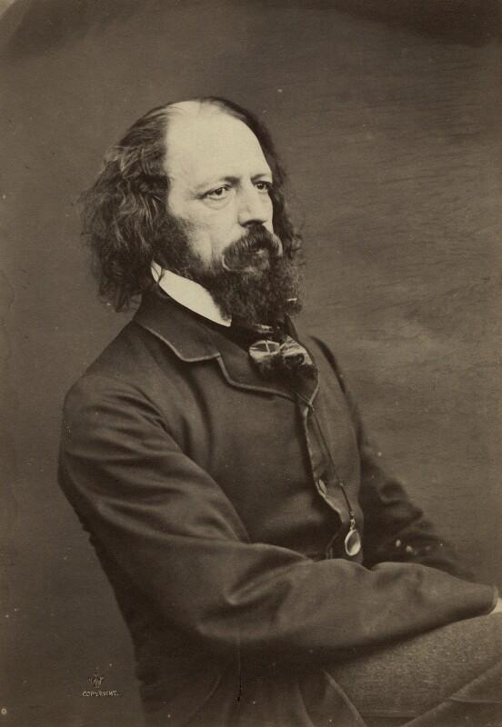 Alfred, Lord Tennyson, by William Jeffrey, circa 1862 - NPG x13249 - © National Portrait Gallery, London