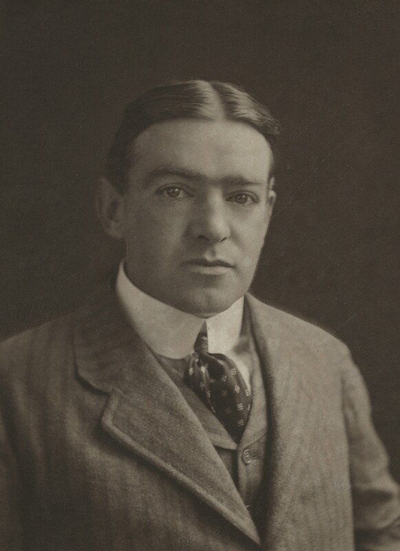 Sir Ernest Henry Shackleton, by (Mary) Olive Edis (Mrs Galsworthy), and  Katharine Legat (née Edis), August 1910 - NPG x13255 - © National Portrait Gallery, London