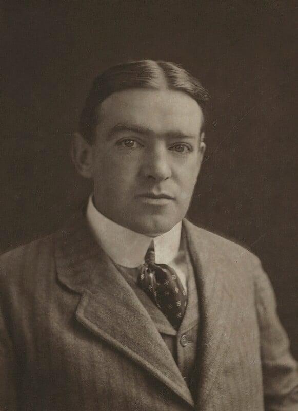 Sir Ernest Henry Shackleton, by Olive Edis, and  Katharine Legat (née Edis), August 1910 - NPG x13255 - © National Portrait Gallery, London