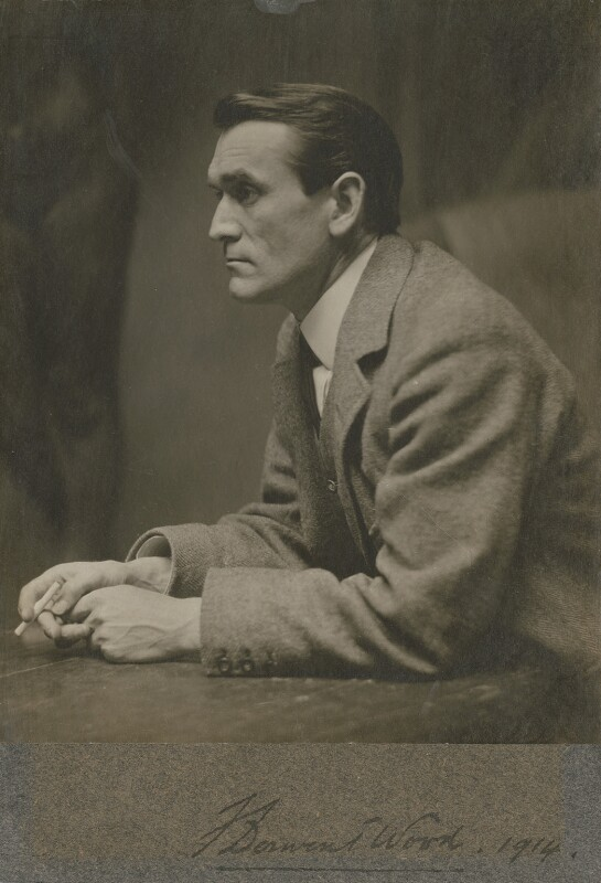 Francis Derwent Wood, by Unknown photographer, circa 1914 - NPG x13326 - © National Portrait Gallery, London