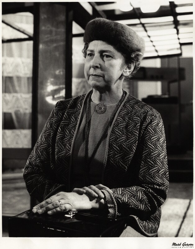 Elisaveta Fen (née Lydia Jackson Jiburtovich), by Mark Gerson, 1962 - NPG x13369 - © Mark Gerson / National Portrait Gallery, London