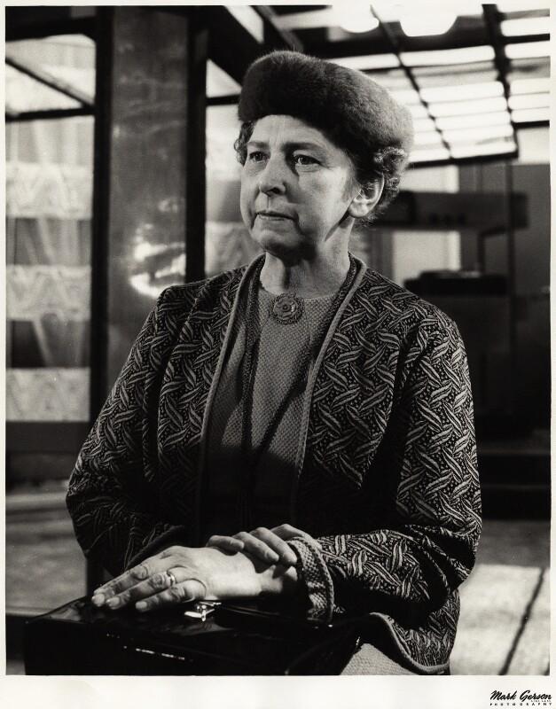 Elisaveta Fen (née Lydia Jackson Jiburtovich), by Mark Gerson, 1962 - NPG x13369 - © Mark Gerson / National Portrait Gallery, London