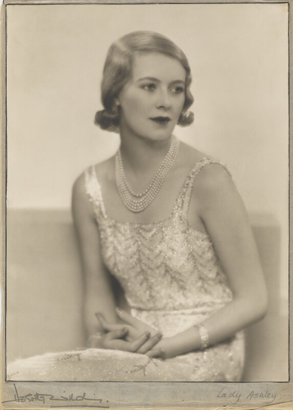 Sylvia (née Hawkes), Lady Ashley, by Dorothy Wilding, 1932 - NPG x13690 - © William Hustler and Georgina Hustler / National Portrait Gallery, London