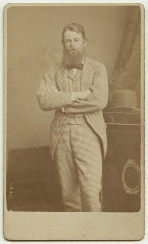 Wilfrid Scawen Blunt, by Alexander Bassano, circa 1870 - NPG x1375 - © National Portrait Gallery, London