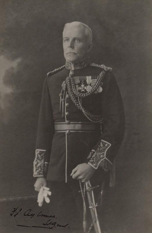 Sir Fenton John Aylmer, by Maud Shelley, 1920s - NPG x141 - © National Portrait Gallery, London
