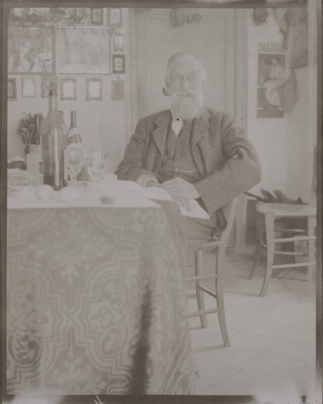 Sir Michael Foster, by Unknown photographer, circa 1905-1906 - NPG x14290 - © National Portrait Gallery, London