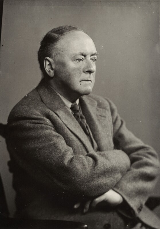 Sir Arnold Bax, by Elliott & Fry, 1942 - NPG x14348 - © National Portrait Gallery, London