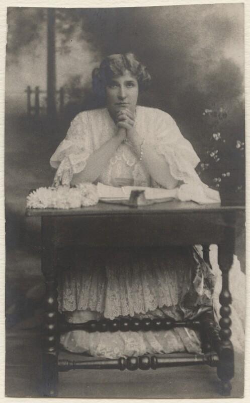 Nellie Melba, by Unknown photographer, 1911 - NPG x14708 - © National Portrait Gallery, London