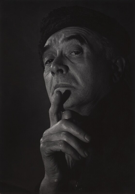 Karl Pollak, by Unknown student of Karl Pollak, circa 1969 - NPG x14997 - © reserved; National Portrait Gallery, London