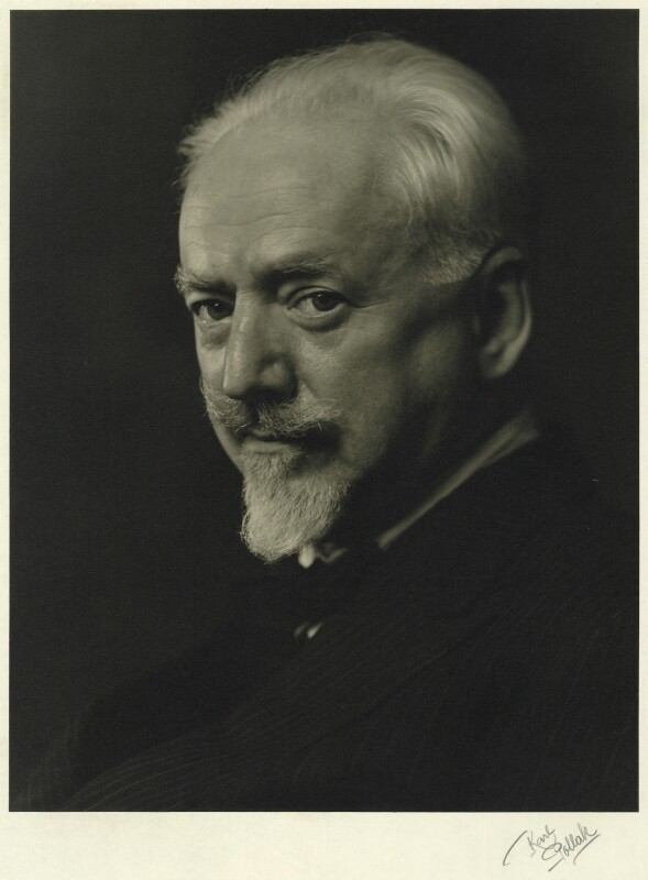Clifford Bax, by Karl Pollak, circa 1948 - NPG x15001 - © reserved; collection National Portrait Gallery, London