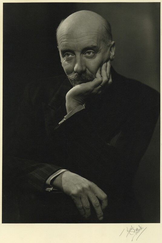 Sir Adrian Boult, by Karl Pollak, circa 1948 - NPG x15002 - © reserved; collection National Portrait Gallery, London