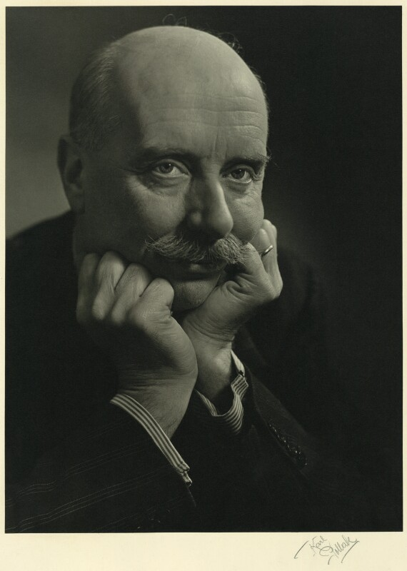 Sir Adrian Boult, by Karl Pollak, circa 1948 - NPG x15003 - © reserved; collection National Portrait Gallery, London