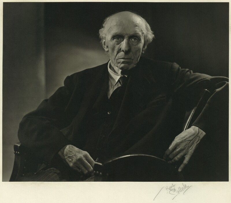 Edgar Algernon Robert Gascoyne-Cecil, 1st Viscount Cecil of Chelwood, by Karl Pollak, circa 1947 - NPG x15006 - © reserved; collection National Portrait Gallery, London