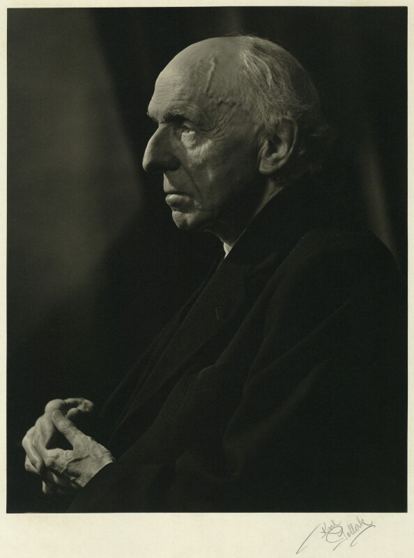 Edgar Algernon Robert Gascoyne-Cecil, 1st Viscount Cecil of Chelwood, by Karl Pollak, circa 1947 - NPG x15007 - © reserved; collection National Portrait Gallery, London