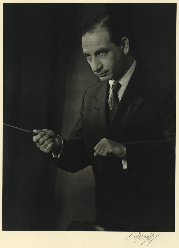 Walter Goehr, by Karl Pollak, circa 1948 - NPG x15021 - © reserved; collection National Portrait Gallery, London