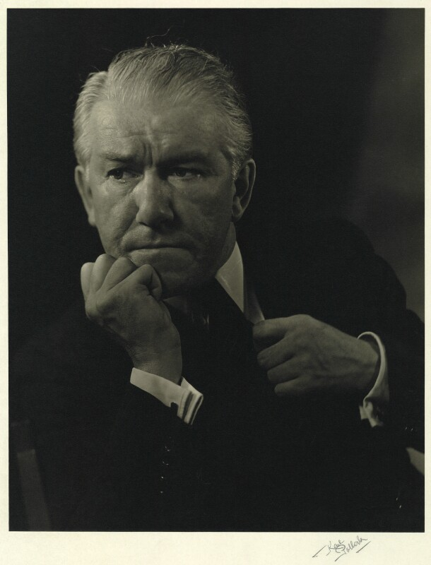 (Thomas) Reginald Jacques, by Karl Pollak, circa 1947 - NPG x15027 - © reserved; collection National Portrait Gallery, London