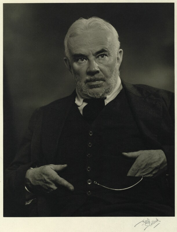 Cyril Edwin Mitchinson Joad, by Karl Pollak, circa 1947 - NPG x15028 - © reserved; collection National Portrait Gallery, London