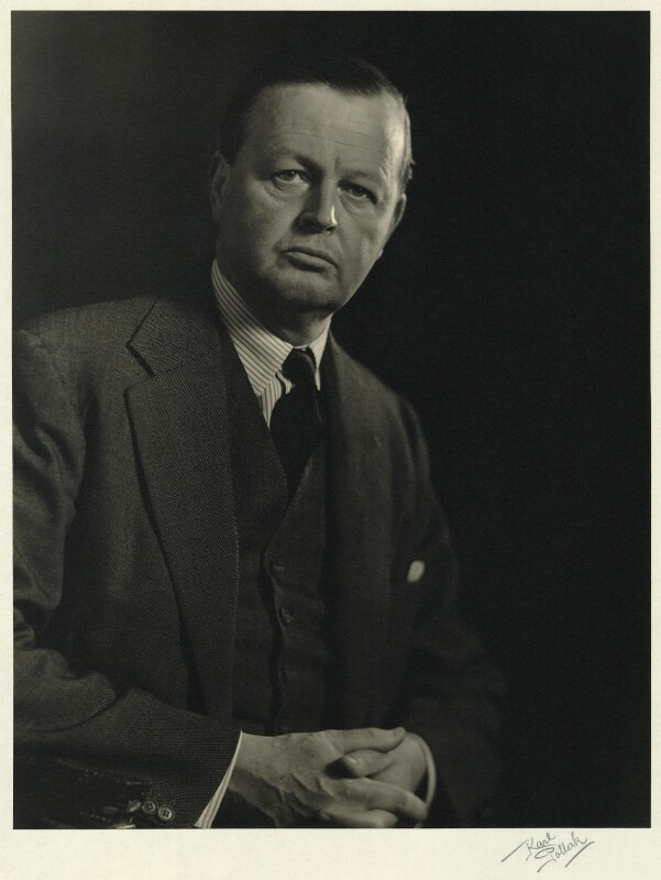 John Albert Edward William Spencer-Churchill, 10th Duke of Marlborough, by Karl Pollak, circa 1948 - NPG x15031 - © reserved; collection National Portrait Gallery, London