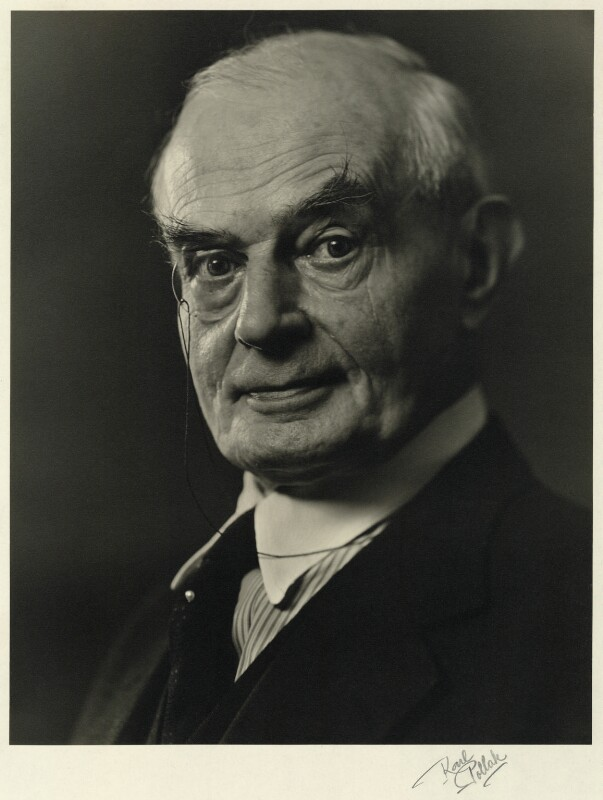 Sir Edward Howard Marsh, by Karl Pollak, circa 1948 - NPG x15032 - © reserved; collection National Portrait Gallery, London