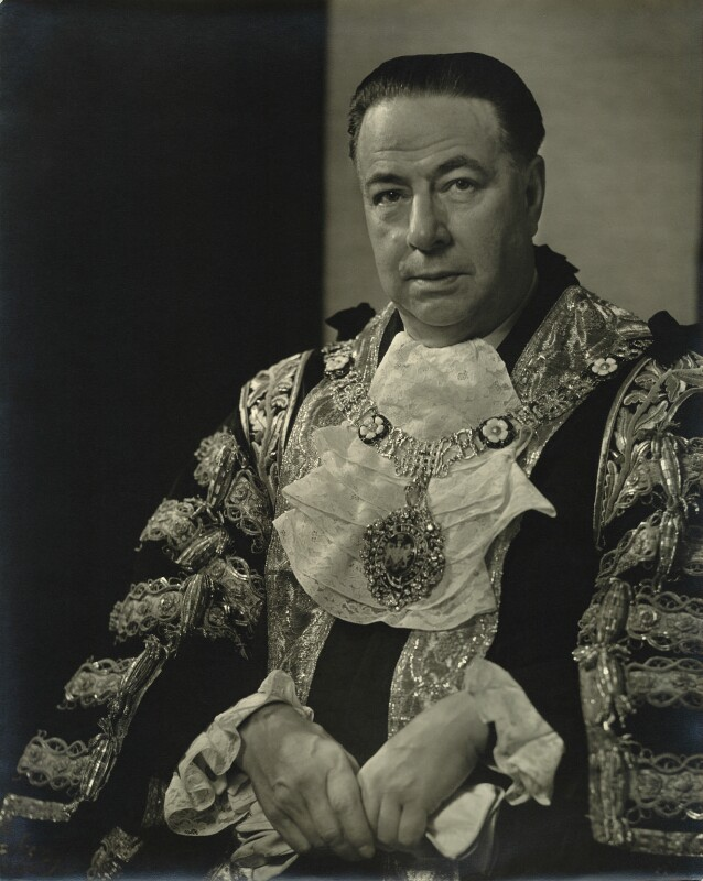 Sir Bracewell Smith, 1st Bt, by Karl Pollak, circa 1946 - NPG x15049 - © reserved; collection National Portrait Gallery, London