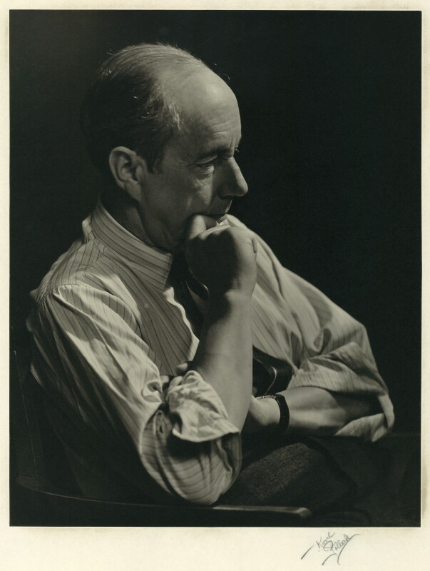 Hugh Evelyn Wortham, by Karl Pollak, circa 1947 - NPG x15059 - © reserved; collection National Portrait Gallery, London